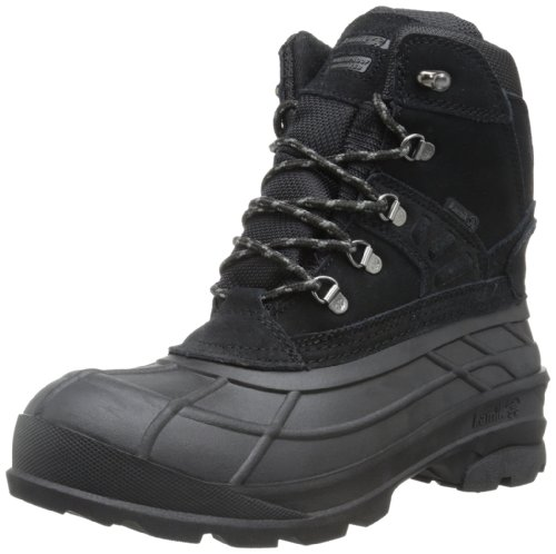 Kamik Men's Fargo Snow Boot,Black,11 M US