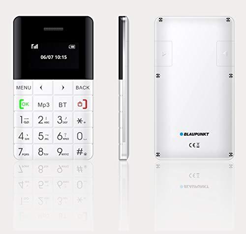 Blaupunkt FXS 01 Feature Phone (White) ohne Simlock, ohne Branding, ohne Vertrag