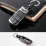 Nero Lega di alluminiof chiave dell'automobile caso di protezione