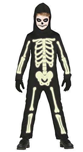 Guirca–Kostüm Skelett, Gr. 7–9Jahre (87312.0)