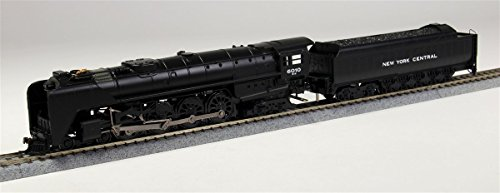 Bachmann Industries New York Central 4-8-4 Locomotive & Tender with Operating Headlight