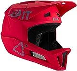 Leatt Casque MTB 1.0 DH Casco de Bici, Unisex Adulto, Rouge Chilli, Medium