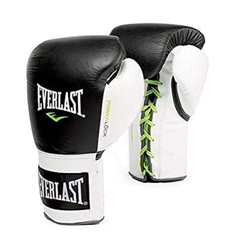 Everlast 2270, Guantes de lucha Power Lock con Cordón , Negro, XL
