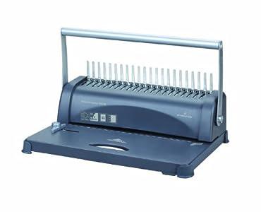 Pavo Smartmaster Plus - Máquina para encuadernación con canutillos de plástico, 40 x 28 x 23 cm, 3,6 kg, color gris