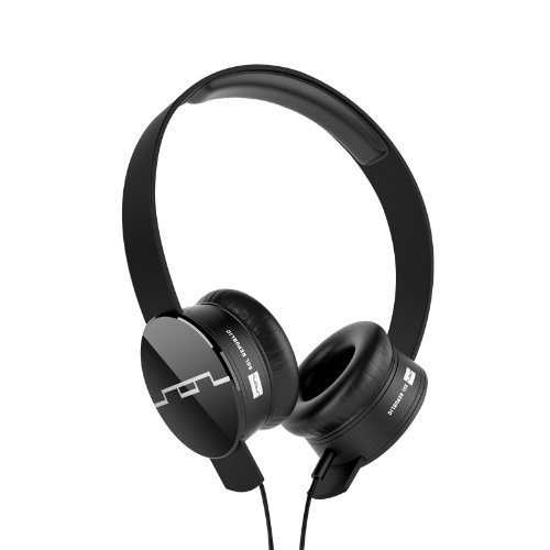 SOL REPUBLIC 1211-01 Tracks On-Ear Interchangeable Headphones with...
