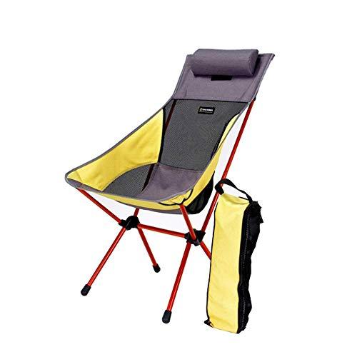 Plegable, Ligero, Plegable Sillas para Mochileros Bolsa Kayak Pesca Senderismo Picnic Playa Conciertos Actividades Al Aire Libre