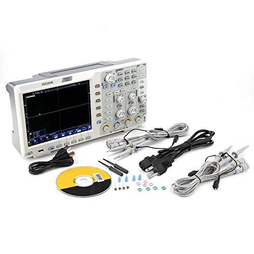 Osciloscopio digital, XDS3204E Osciloscopio 200Mhz DSO 4Ch 1GS/S 8bits 70,000 wfms/s 40M Re 100-240V(UE)