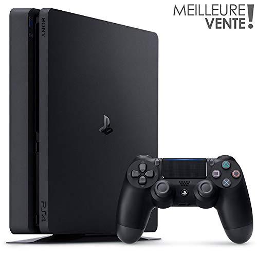 PlayStation®4 Slim - Konsole Generalüberholt (1TB, schwarz, F-Chassis, 12 Monate Herstellergarantie)