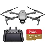 DJI Mavic 2 Pro Drone Quadcopter with Smart Controller, Starter Bundle, 64GB SD Card (Renewed)