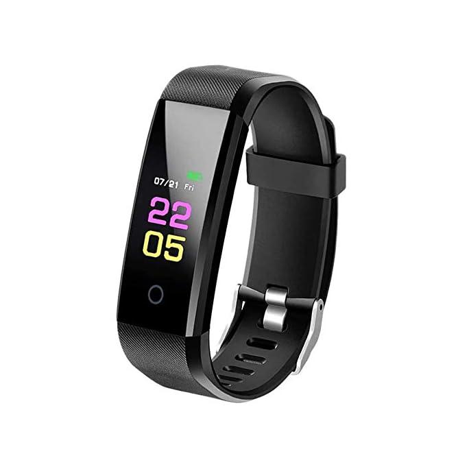 MACLY SmartBand Aktivitäts Tracker mit Blutdruckmessung