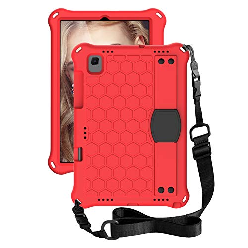 for Samsung Galaxy Tab A7 10.4 (2020) T500/T505 Tablet Case for Kids,Durable Lightweight EVA& PC Shockproof Handle Stand Cover, Pen Holder & Shoulder Strap