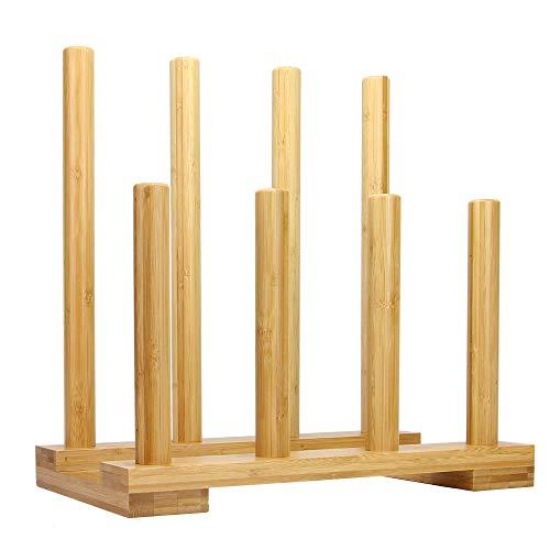 Estante de la bota de bambú | Almacenamiento de arranque | Bota y Welly Rack | Organizador de botas Wellington | Soporte de botas para caminar | M&W