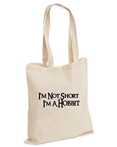 Im Not Short Im A Hobbit Gift Unisex Funny Cute Short People Dwarf Cotton...