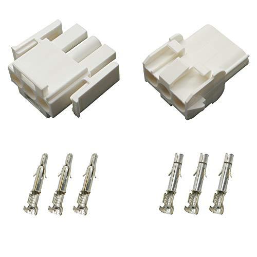 Stecker Set Steckverbinder Universal Mate N Lok 3-polig incl. Kontakten