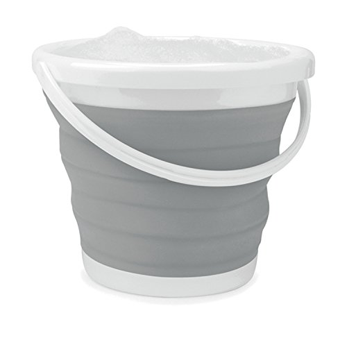 Beldray LA028495GRY Grey 10 Litre Collapsible Bucket