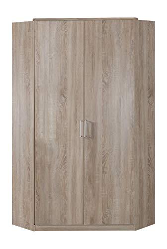 Wimex Kleiderschrank/ Eckschrank Click, 2 Türen, (B/H/T) 95 x 198 x 95 cm, Eiche Sägerau