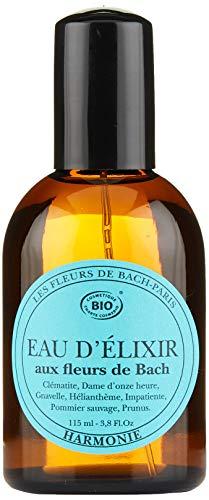 Elixirs & Co - Eau de toilette aux fleurs de Bach - Bien-être - 100% Naturel - VEGAN - BIO - MADE IN FRANCE - Harmonie - Eau de toilette apaisante - 115ml