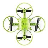 JJRC Lugia全球最新H60十字形可折叠RC无人机,带720p相机无线电控制玩具(绿色)