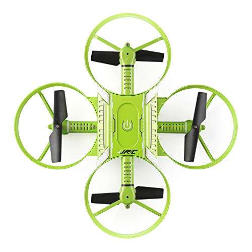 JJRC Lugia Global Newest H60 Cross-Shaped Foldable RC Drone with 720p Camera Radio Control Toy (Green)