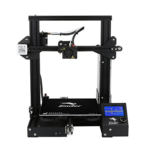 No-branded Ender 3 3D Printer Economic Ender DIY Kits with Resume Printing Function 220x220x250mm DDDLLUS