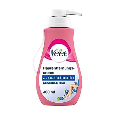 Veet Sensitive Haarentfernungscreme Schnelle