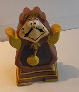 Vintage Burger King Kids Meal Hand Puppets Disney Beauty and the Beast : Cogsworth