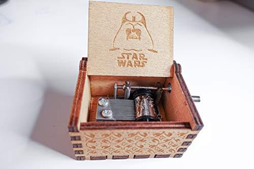 5665 Starwars Music Box Wooden Decorative Music Box Starwars Music Classic Vintage Gift