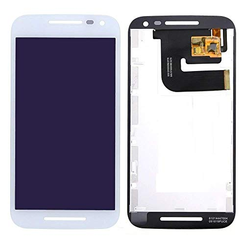 MrSpares LCD Display + Touch Screen Digitizer Assembly for Motorola Moto G3 : White