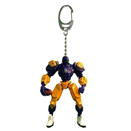 FanFave NFL Fox Sports Team Robot Schlüsselanhänger 7,6 cm, Minnesota Wikinger