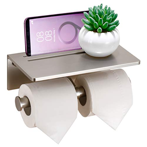 Top 10 best selling list for double toilet paper holder brushed nickel