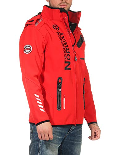 Geographical Norway Softshell Jacke G-River - RED - 3XL