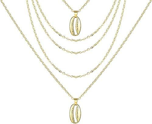 ZJJLWL Co.,ltd Necklace Necklace Vintage Gold Portrait Pearl Pendant Necklaces for Women Bohemia Pearl Long Necklace Jewelry