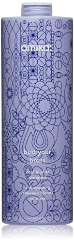 amika Bust Your Brass Cool Blonde Shampoo 1 Litre