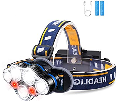 Rechargeable Headlamp,USB LED Headlamp