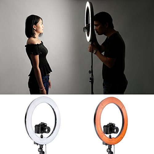 Use an LED Ring Light for awesome selfies 4