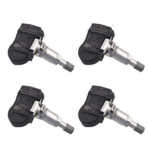 SSXPNJALQ Sistema de Monitor de presión de neumáticos de 4pcs TPMS 433 MHz Sensor Fit para Citroen C5 C4 C6 C8 Fit para Peugeot 508 607 807