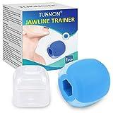 Jawline Trainer, Jaw Exerciser, Jaw Trainer, Kiefer Training, Gesichtsstraffer, Kieferformer, Reduzieren Sie das Doppelkinn und straffen Sie das Gesicht (Blau)