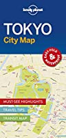 Lonely Planet Tokyo City Map 1