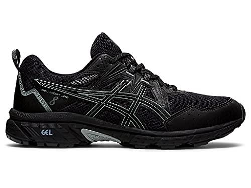 ASICS Men's Gel-Venture 8 Running Shoes, 11, Black/Black