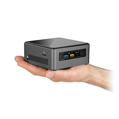 Mini PC - CSL Intel NUC Core i7-7567U - 2X 3500MHz, 16 GB RAM, 240GB SSD, Intel® Iris Plus Graphics 650, USB 3.1 Gen 2, WLAN