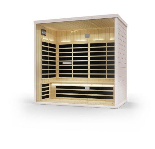 Weigand Tylö Prime+ Infrarotkabinen in verschiedenen Größen I Infrarot I Sauna I Infrarotkabine I Tylö I Helo I tylöhelo (1811 I Maße: B 182,9 x T 111,8 x H 194 cm)