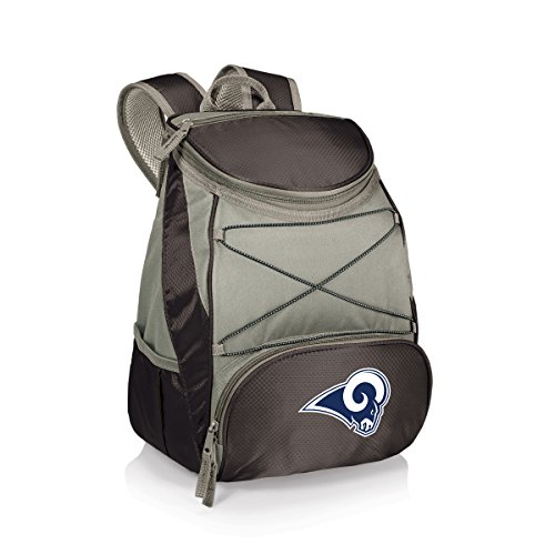 PICNIC TIME NFL LA Rams PTX Insulated Backpack Cooler, Black