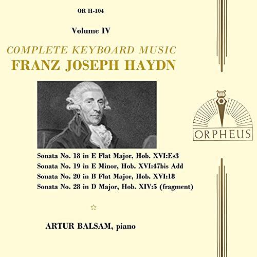 Sonata No. 19 in E Minor, Hob. XVI.47bis Add: III. Tempo di Menuet