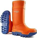 Dunlop C662343 Purofort Thermo Sicherheits Gummistiefel (42 EUR) (Orange)