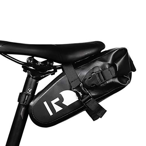 Roswheel Praktische Fahrrad Satteltasche Wasserdicht Hecktasche Rennrad Aufbewahrungstasche Mountainbike Große Kapazität Verstellbare Sitzsack