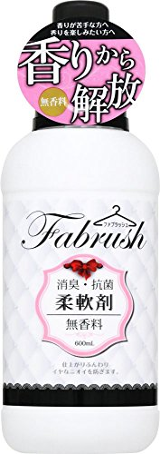 fabrush(ファブラッシュ) 柔軟剤 無香料 600ml
