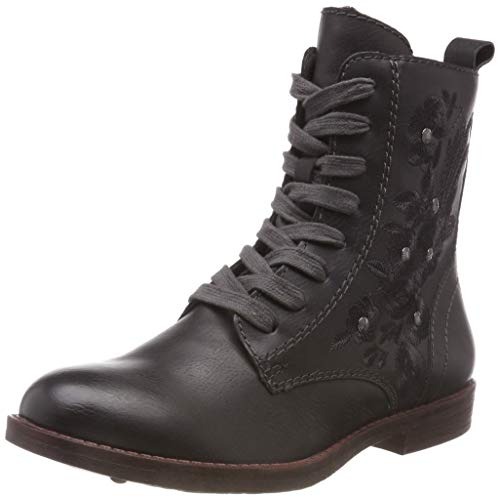 Tamaris Damen 25114-21 Combat Boots, Grau (Anthracite 214), 37 EU