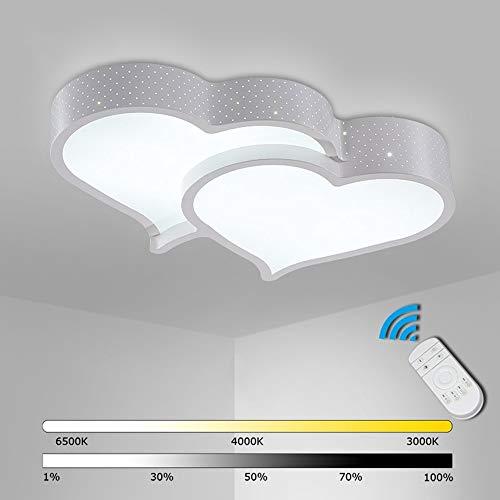 LED creativo Lámpara de techo cálido estudio romántico