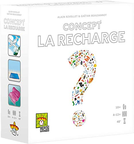 Concept – Erweiterung: La Recharge – Asmodee – Gesellschaftsspiel – Gesellschaftsspiel – Brettspiel