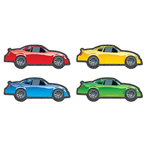 Carson Dellosa – Race Cars Colorful Cut-Outs, Classroom Décor, 48 Pieces